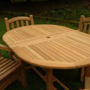 Savannah Oval Extending Table